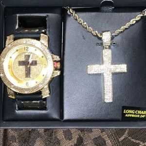 Men's Watch and Chain set
